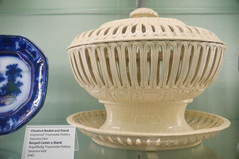 Swansea Museum pottery
