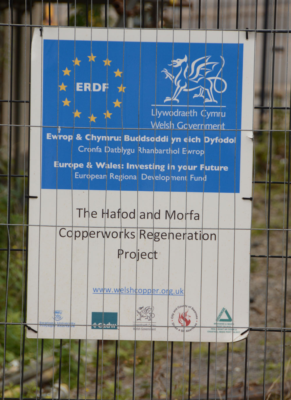 Copperworks Restoration Funding